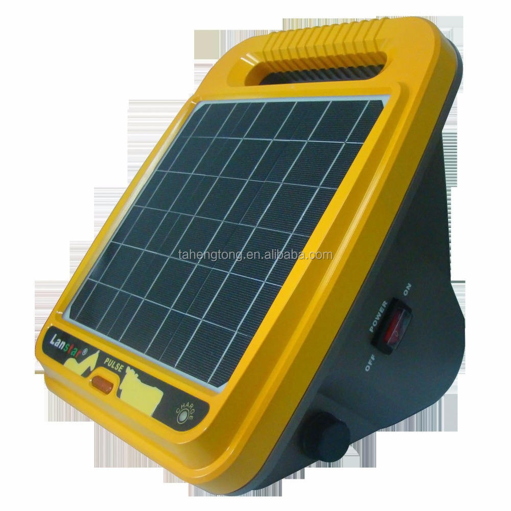 solar electric fence energizer for sheep fence