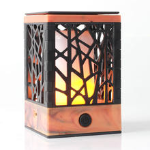 Pretty Portable Votive Candle-like Romantic Flickering LED Flame Lamp Mini Home Appliances Other Home Appliances