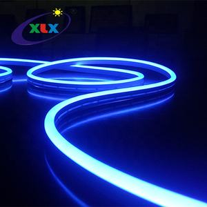 Blue Indoor and outdoor 12v 24v silicone ultra thin mini rope flexible strip light led neon flex