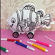 Popular DIY Inflatable Children Educational Graffiti Painting Baby Toys
