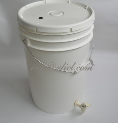 Home Brew 25L Plastic Fermenter Buckets With airlock and spigot scale for homebrewing using