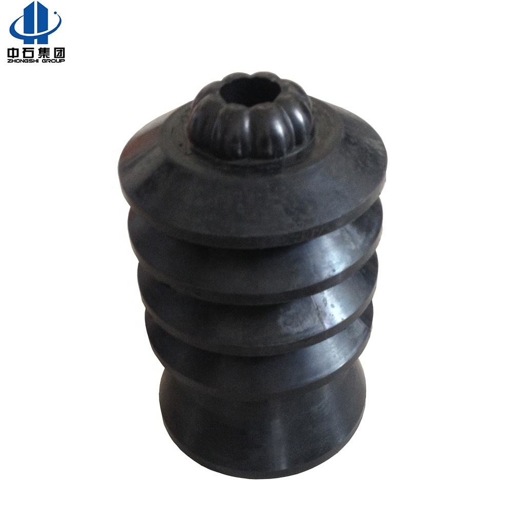 self-locking type combination variable diameter cement rubber plug