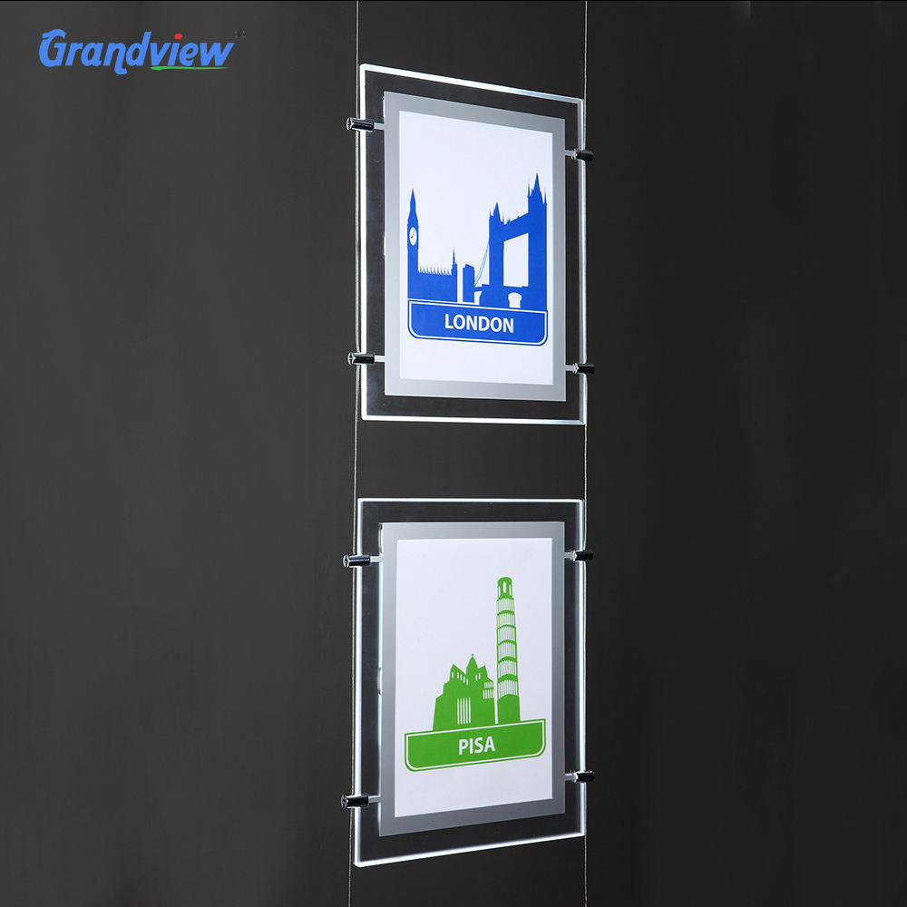 LED lighting poster Bathroom Magic Mirror light box