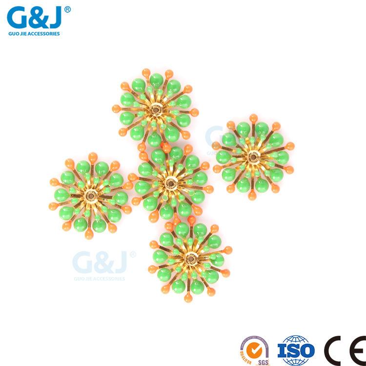 Guojie marke yiwu fabrik direkt verkauf custom design für kleid diamant stein chinesischen kristall-perlen