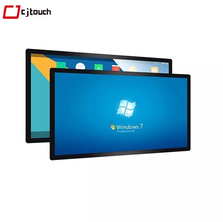 touch screen monitor 104 open frame large 42''43''48''49''55''65'' large size touchscreen monitor for kiosk advertising outdoor