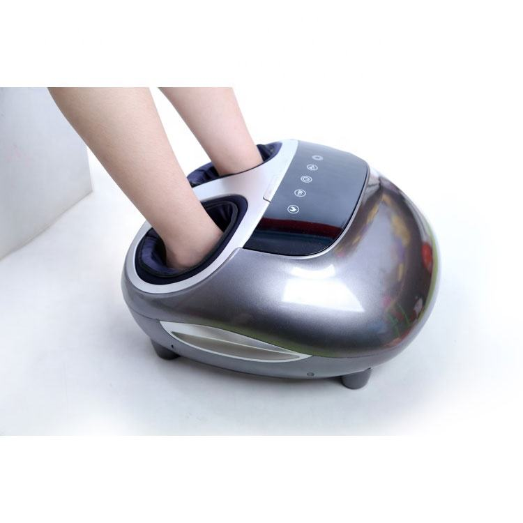 Heat machine with heat air bag foot massager vibrating shiatsu electric foot massager stimulate foot massager