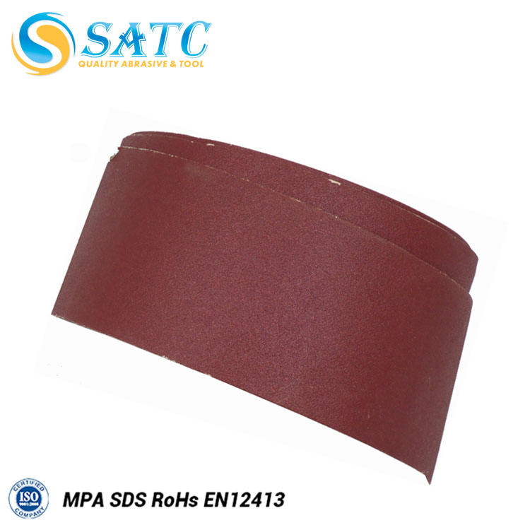 China red abrasive sanding cloth rolls