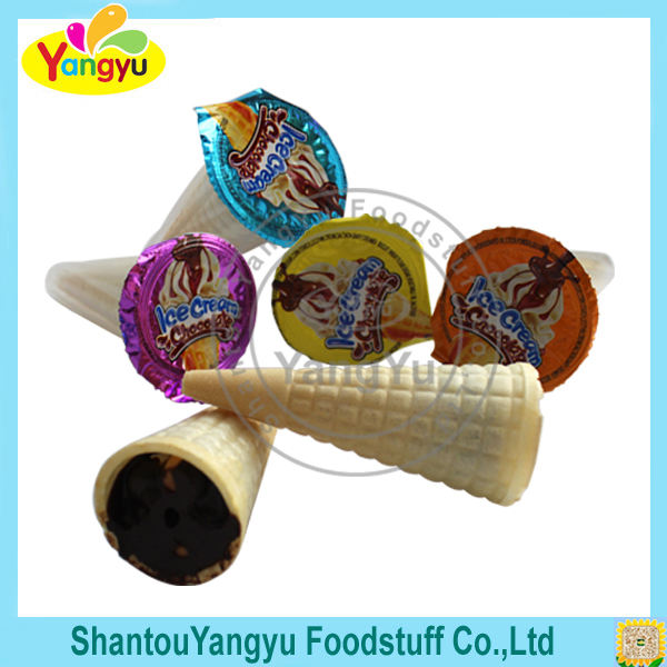 China factory supplier delicious assorted foods white praline chocolate
