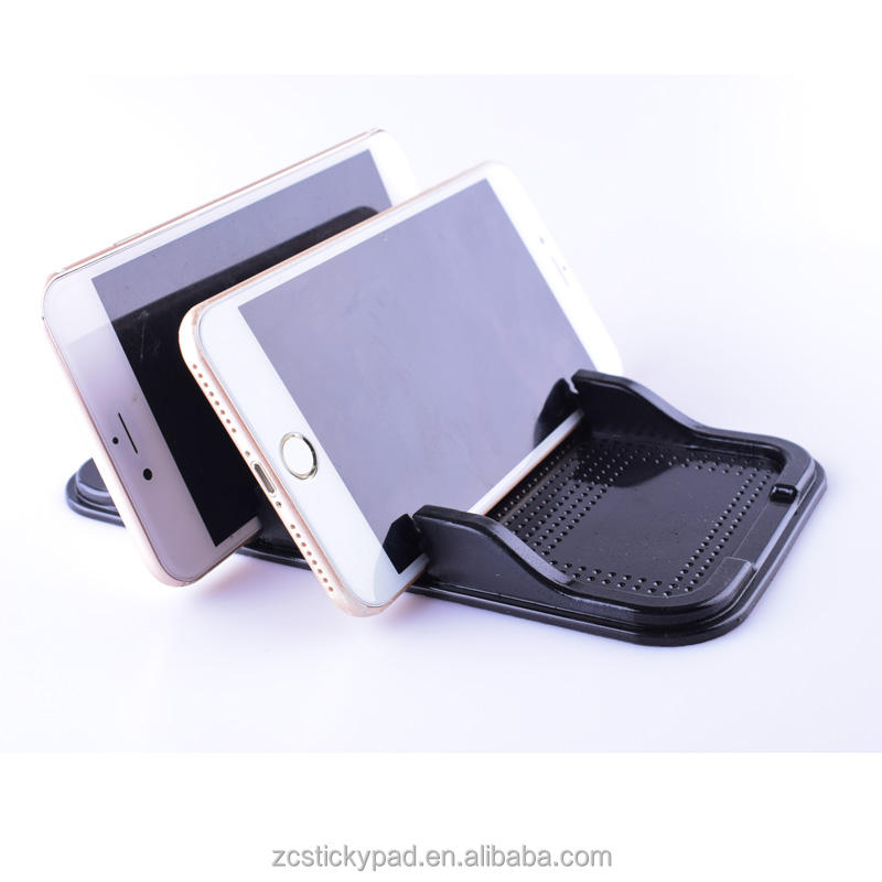 New Arrival two insert positions self adhesive mobile phone holder