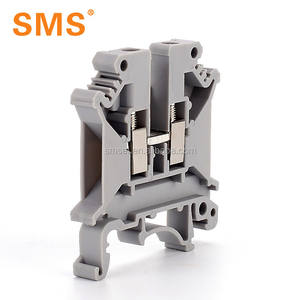 Din Rail Mounting Screw Clamp Terminal Block UK3N