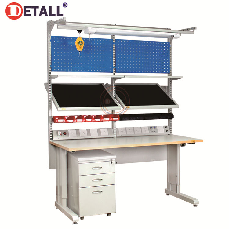 Detall- Standard Aluminium Workstation Jeweler Workbench Steel Work Bench With Drawers
