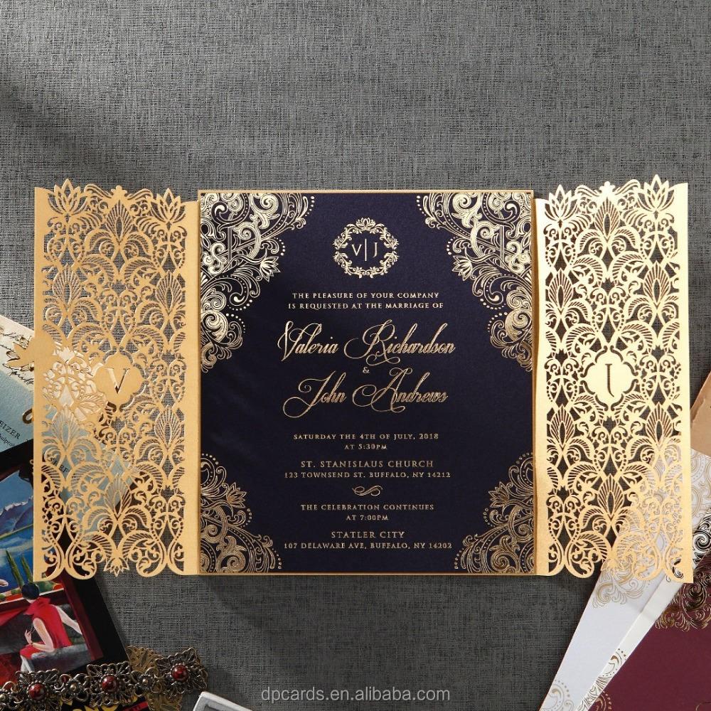 China Wedding Luxury Invitation Cards, China Wedding Luxury Invitation Cards  Manufacturers and Suppliers on Alibaba.com