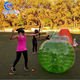 2019 Body zorbing glowing bubble football/giant soccer bubble ball