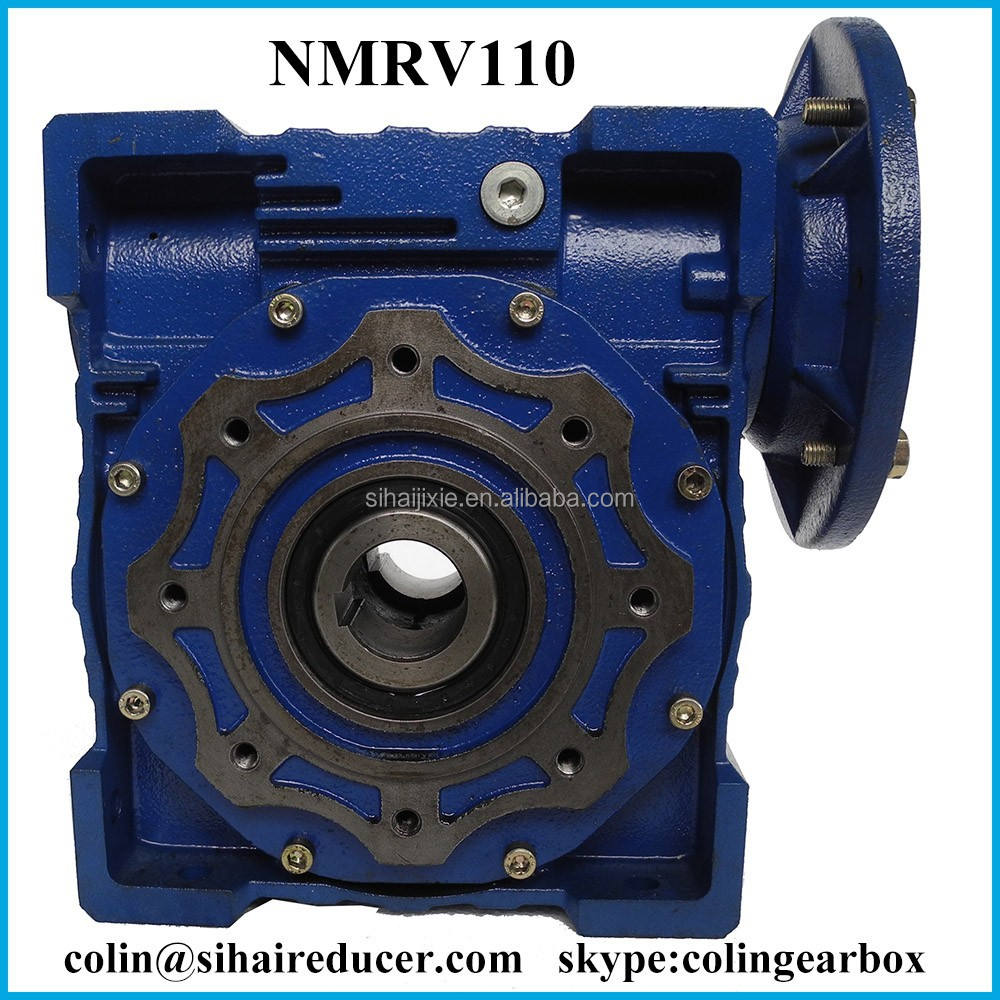 NMRV110 Wrom Gear Box Speed Reducer Machine photo