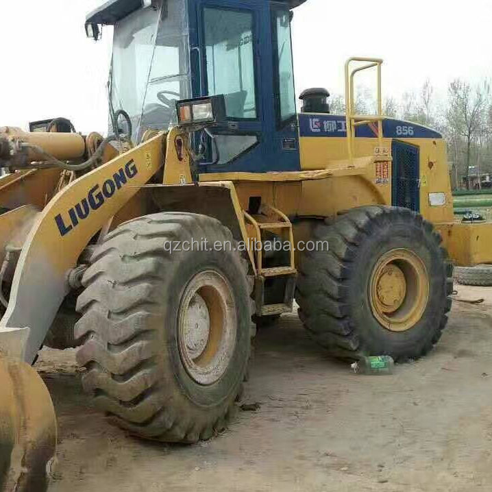 chinese liugong 856 cheap price used liugong wheel loader