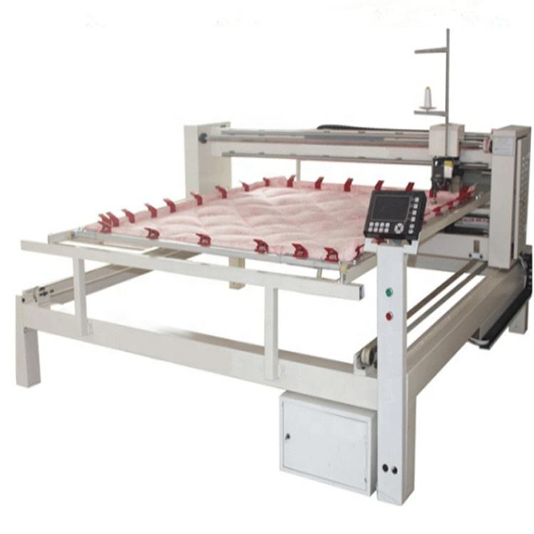 China Industrial Computerized Long Arm Single Needle Mattress Quilting Machine