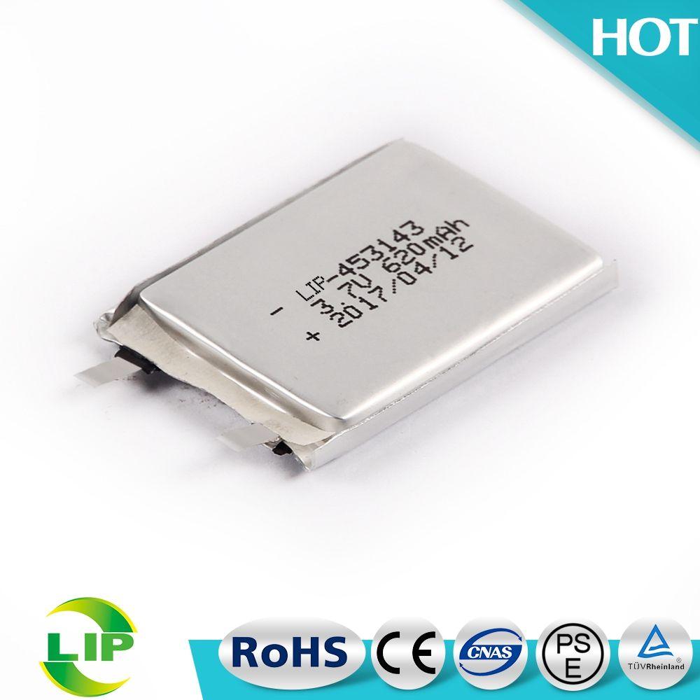 Высокое качество Подлинной аккумуляторная 453143 3.7 В 620 мАч литий-полимерный аккумулятор