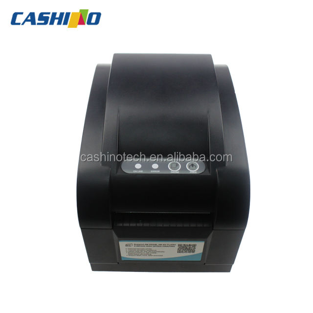 CSN-350B 58mm USB/RS232/LAN interface thermal transfer label barcode printer