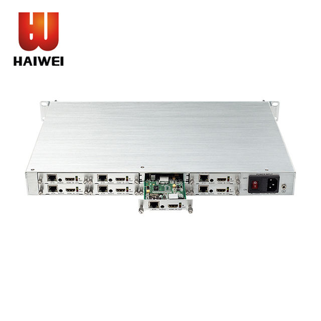 Haiwei H.264 H.265 <span class=keywords><strong>MPEG</strong></span> <span class=keywords><strong>4</strong></span> AVC IP 8 Channel HDMI <span class=keywords><strong>Video</strong></span> Encoder