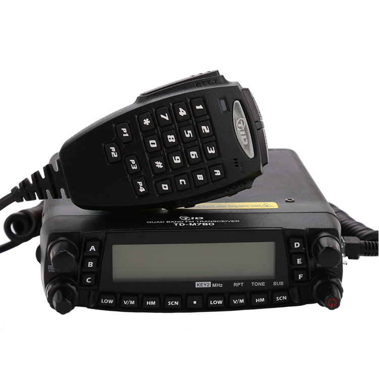 Handy quadband zweiwegradio 29/50/144/433 mhz HF/<span class=keywords><strong>VHF</strong></span>/UHF multi- Band