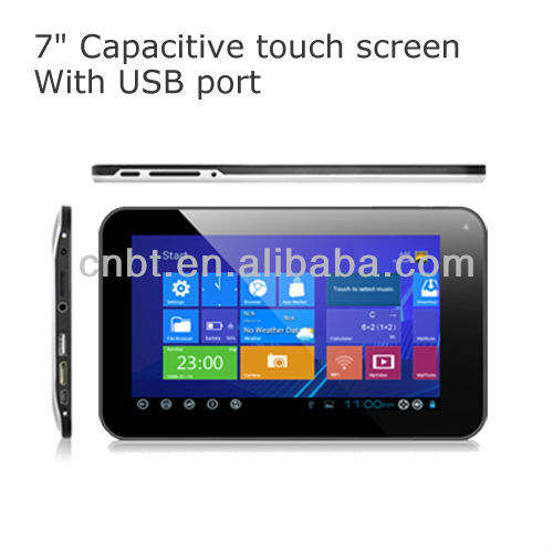 7 inch tablets android 4 0 with windows 8 UI