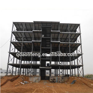 Fast building construction famous steel frame structures