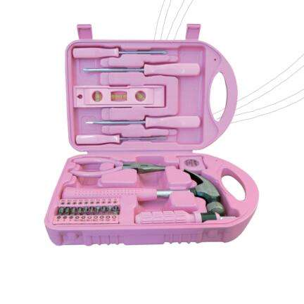 29 pcs top verkoop pink lady tool kit