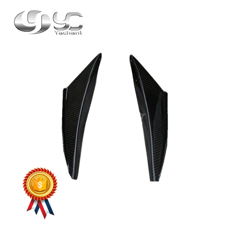 FRP FIBER GLASS EXTREME STYLE FRONT LIP SPLITTER SPOILER FOR EVOLUTION VI EVO 6