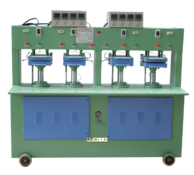 CJ-840 HOT SALE 4 stations shoes insole forming machine insole moulding machine