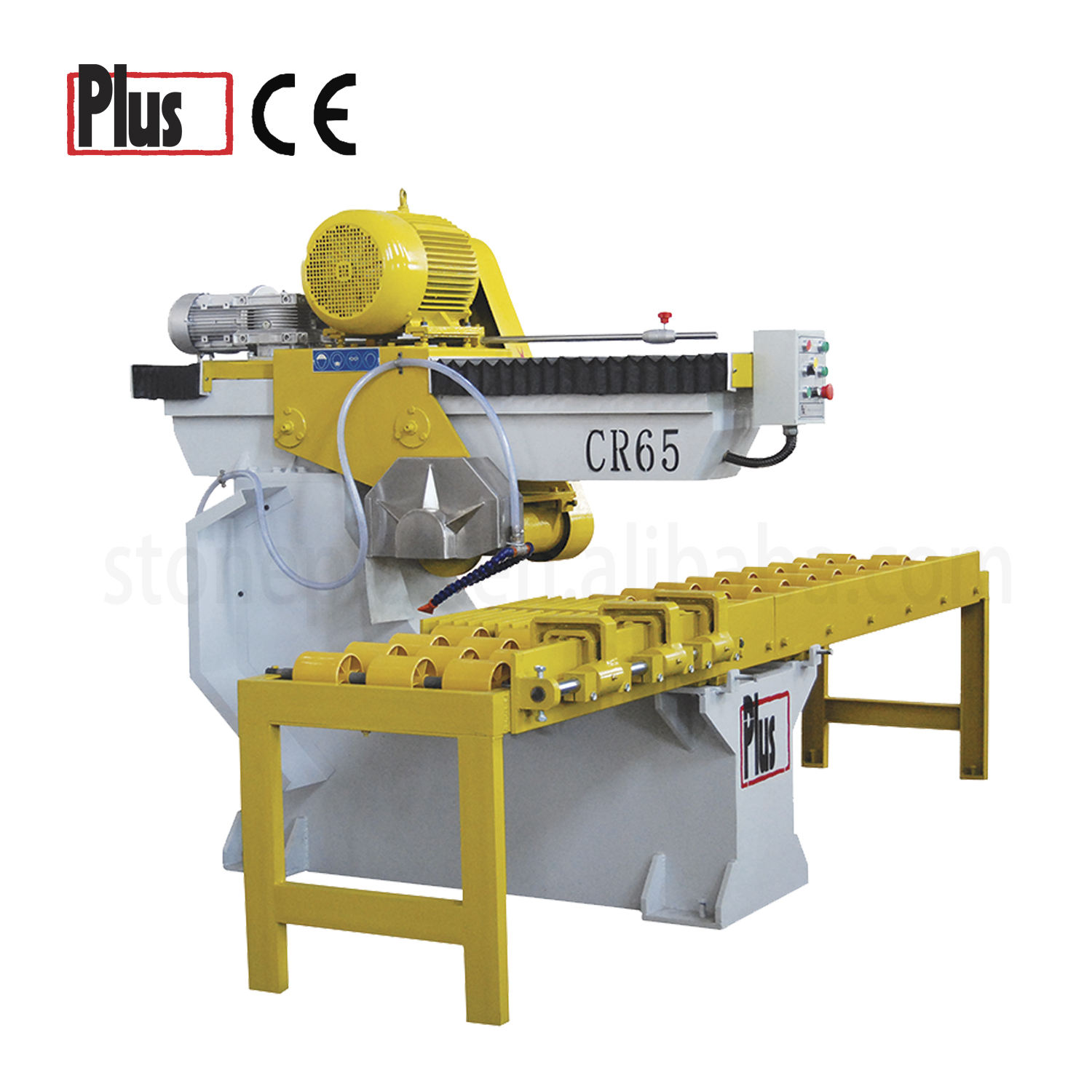 CR65 High efficiency stone cross cutting machine for granite marble