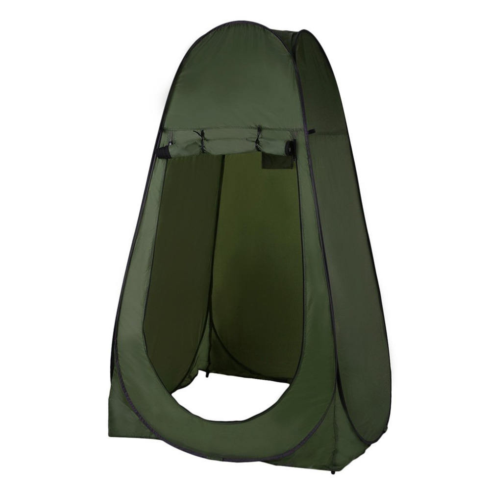 Newset Portable Outdoor Pop Up Tent Camping Bathroom Privacy Toilet Changing Room Shelter Single Folding Tents 120*120*190