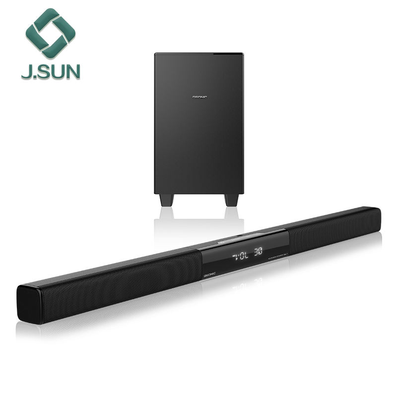 LCD TV sound bar with BT passive subwoofer for best quality in J.SUN