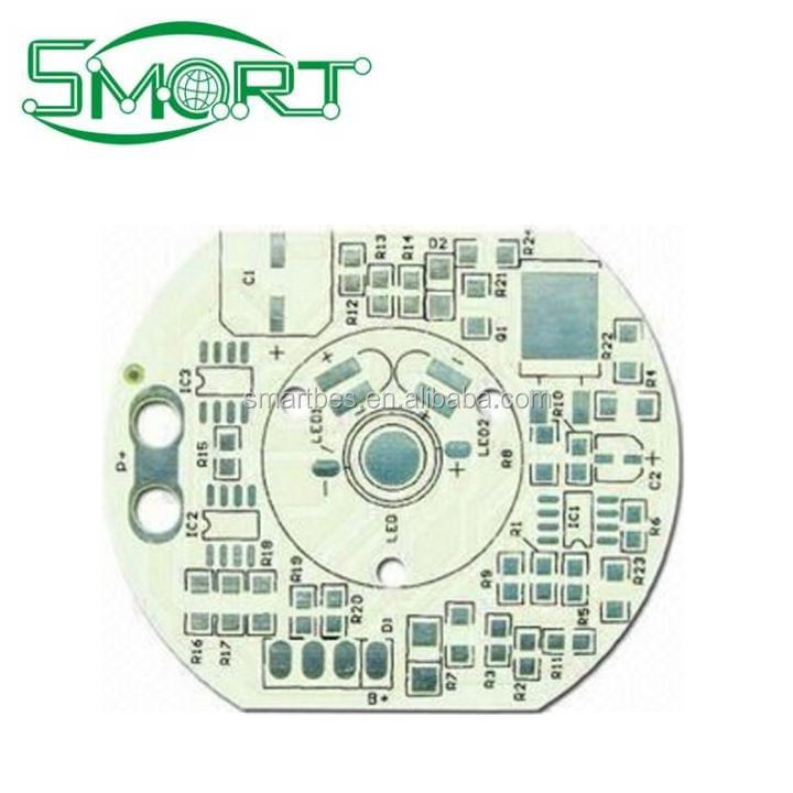 Smart Electronics pcb board for led light bar and WS2812 aluminum profile black aluminum pcb