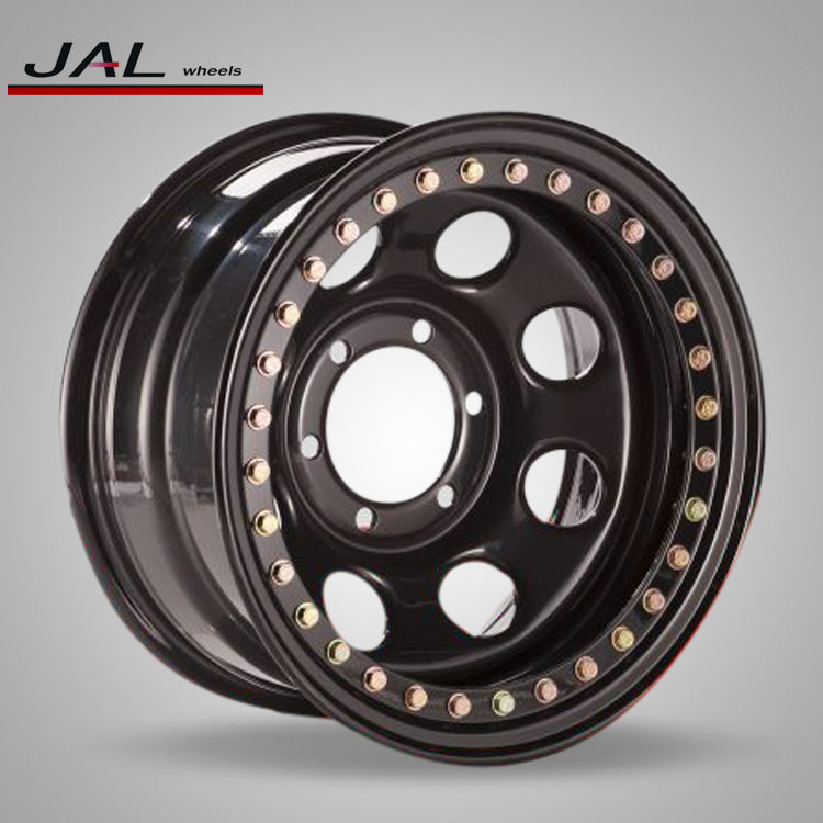 Hot sale Widely Used 165.1 Beadlock Wheel, 4x4 soft 8 beadlock steel wheels