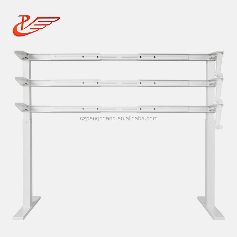 motorized adjustable height table legs sitstanding desk frame manual height adjustable desk
