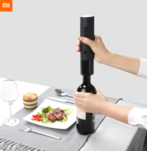 Xiaomi Mijia Huohou Automatic Red Wine Bottle Opener Electric Corkscrew Foil Cutter Cork Out Tool For Xiaomi Smart Home Kits