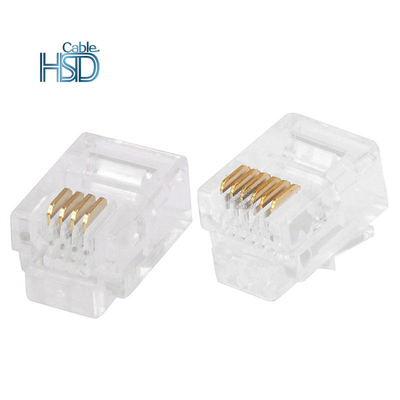 Rj11 Connector Manufacturer To Ethernet Connections 6 Pin Cheap For Telephone In Networking 4p4c 6p2c 6p4c 6p6c Specifications