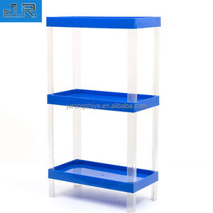 Promotionele Plastic Stand Voedsel Planken Display Rack