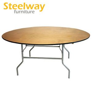 Folding round party tables for sale