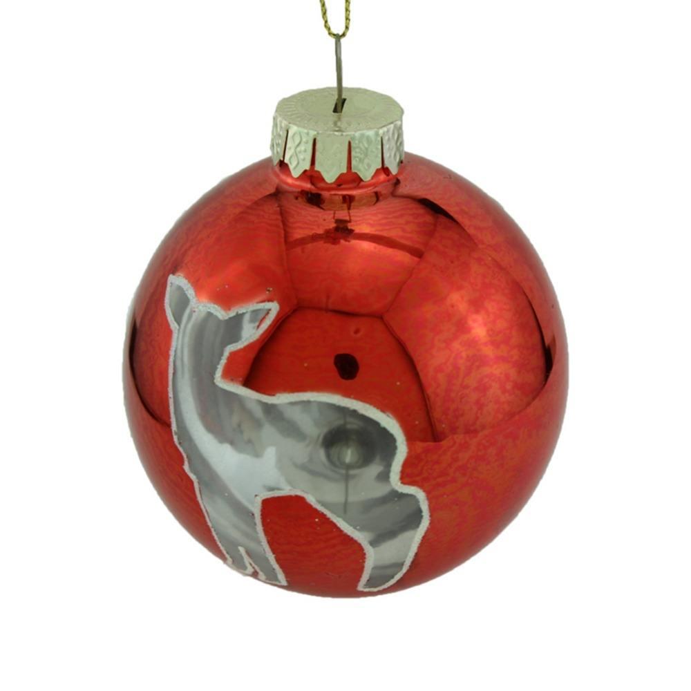 Outdoor cristmas decorazioni fatte a mano palline di vetro