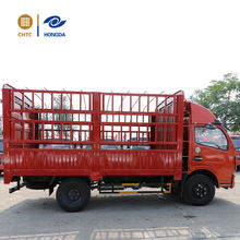 China Yuejin 125hp 4X2 light duty mini stake cargo truck for sale