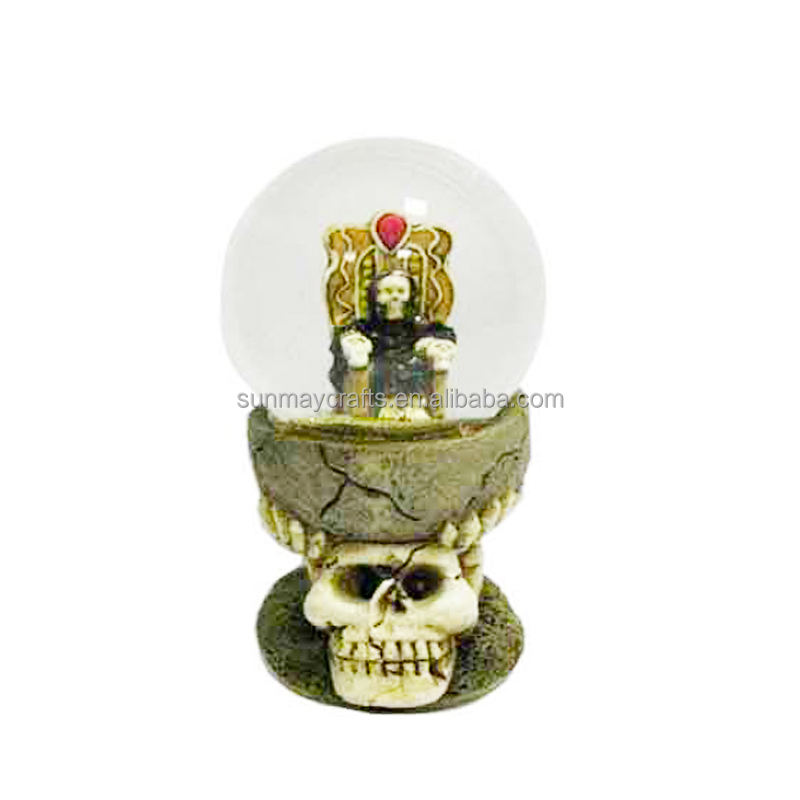 Halloween [ Halloween Water Globe ] Halloween Halloween Water Globes Halloween Gift Water Globe With Skull SMW0129