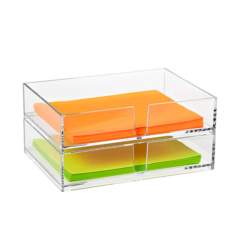 Clear Acrylic Letter Tray Plastic Letter Holder