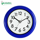 Reloj Pared Bathroom Waterproof Clock Imarch WC17008- Blue Round Shape Reloj De Pared Waterproof Bathroom Clock Quartz Battery Operated Clock 2020