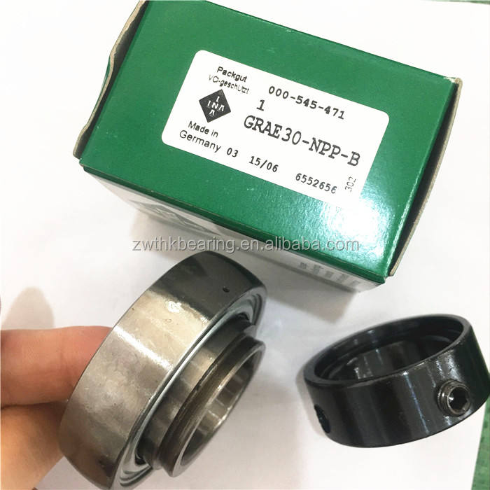 Original INA radial insert ball bearings GRAE20-NPP bearing