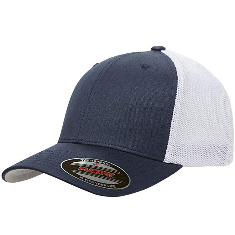 Wholesale Custom Fashion Promotional 6 Panel Cotton Mens Trucker Baseball Cap Manufacturer
