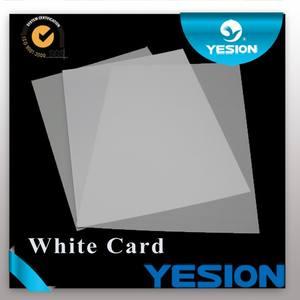 새로운 도착! 고품질의 이중면 비- 적층 잉크젯 PVC 카드 ID 카드 새로운 모델