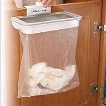 Kitchen tools 1pc Portable Hanging Trash Garbage Bag Holder for Kitchen Cupboard Attach-A-Trash The Hanging Trash Bag Holder
