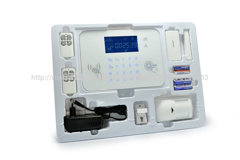экран lcd сигнализация проводной мини сенсорную клавиатуру