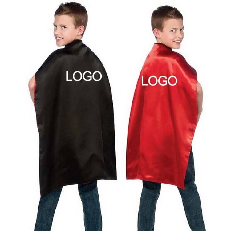 2019 Popular Custom Girls Superhero Red Cape For Sale